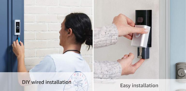 Ring Doorbell Pro vs 3 Installation and Power
