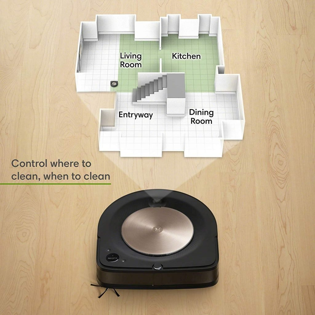 roomba s9 mapping