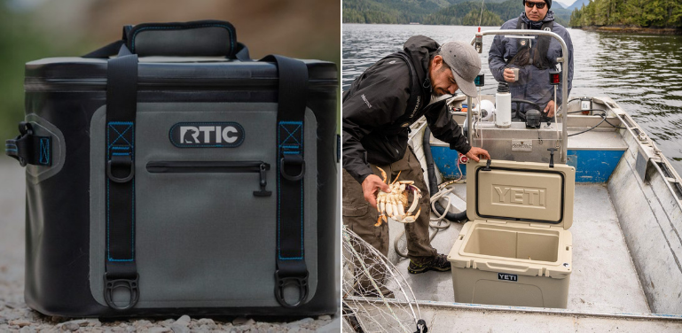 RTIC vs YETI Cooler Design Overview