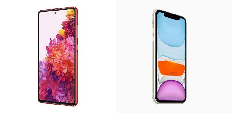 Samsung Galaxy S20 FE vs iPhone 11