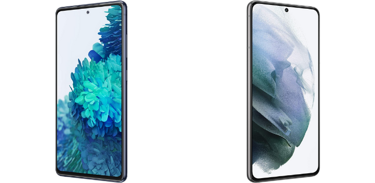 Samsung Galaxy S20 FE vs S21