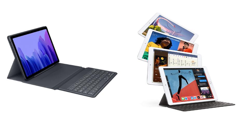 Samsung Galaxy Tab A7 vs iPad Features
