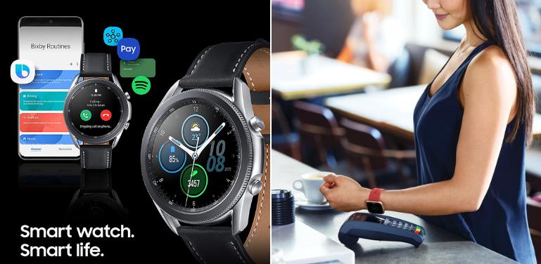 Samsung Galaxy Watch 3 vs Fitbit Sense Smart Features