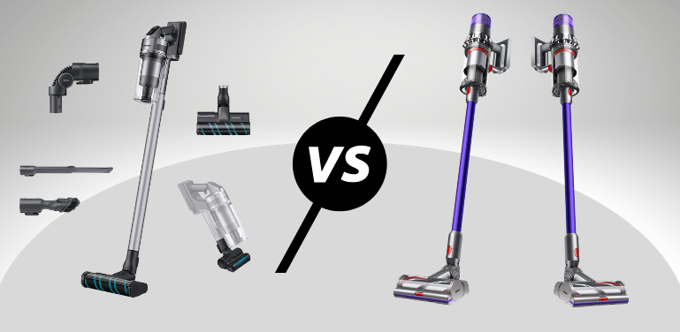 Samsung Jet 75 vs Dyson V11 vacuum cleaner comparison