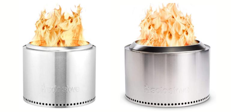 Solo Stove Bonfire vs Yukon Fire Pit Design Comparison
