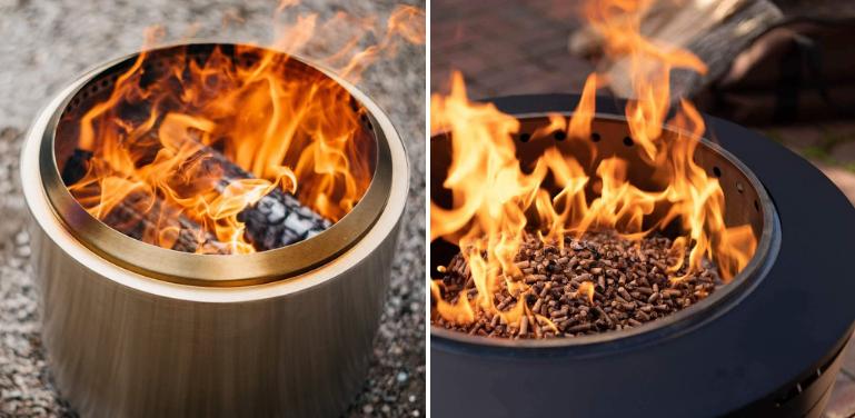 Solo Stove Bonfire vs Tiki Fire Pit Review