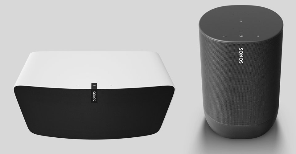 sonos move vs play 5 design comparison