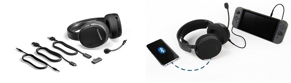 SteelSeries Arctis 1 vs Arctis 3 Wireless Options