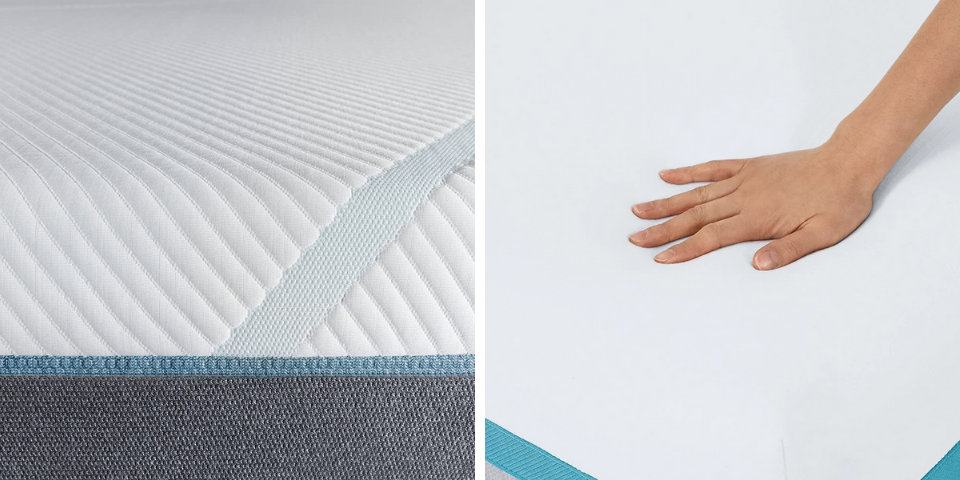 Tempur-Pedic vs Helix Construction and Feel