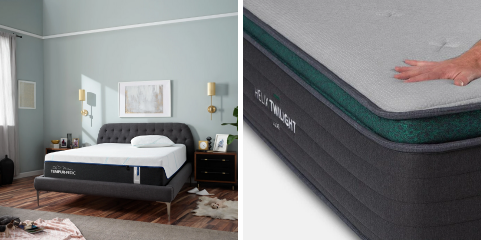 Tempur-Pedic vs Helix Pricing and Availability