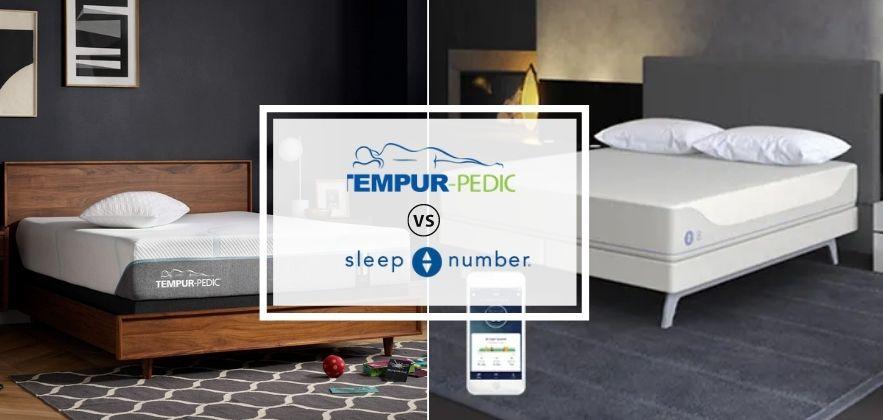 tempurpedic vs sleep number