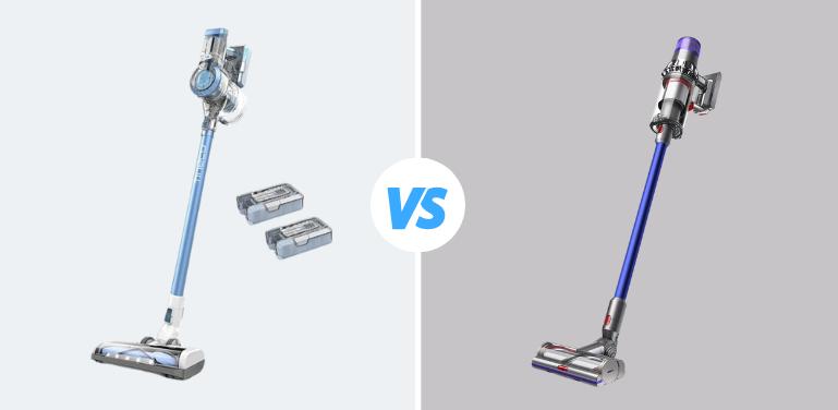 Tineco A11 Hero vs Dyson V11 Cordless Vacuum