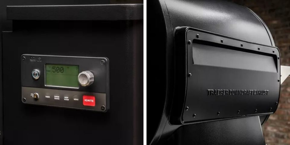 Traeger Ironwood 650 vs 885 Controls and Other Features