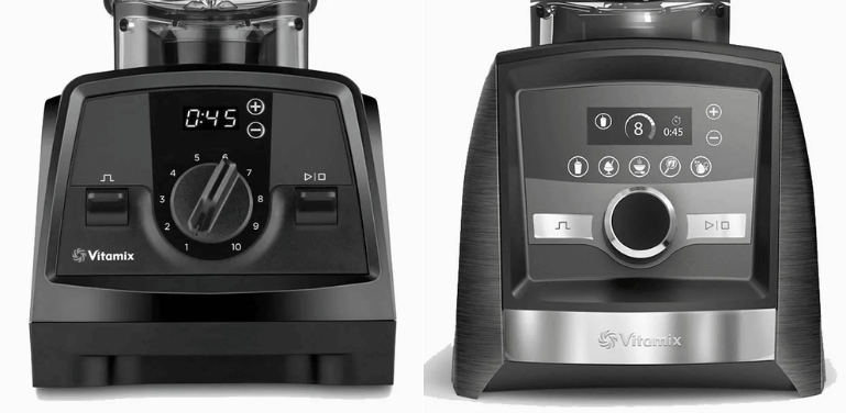 Vitamix Venturist vs Ascent controls and other features