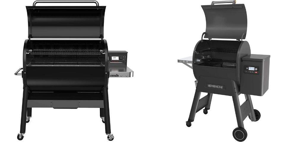 Weber EX6 vs Traeger Design