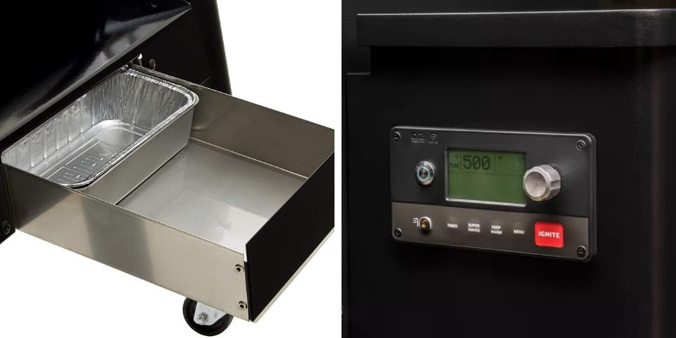 Weber EX6 vs Traeger Other Features