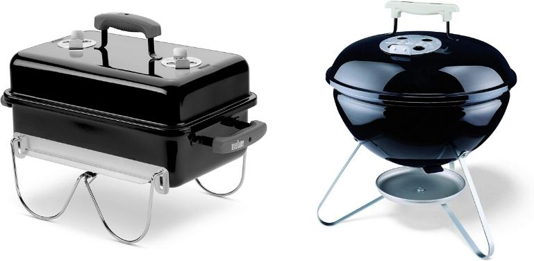 Weber Go-Anywhere vs Smokey Joe