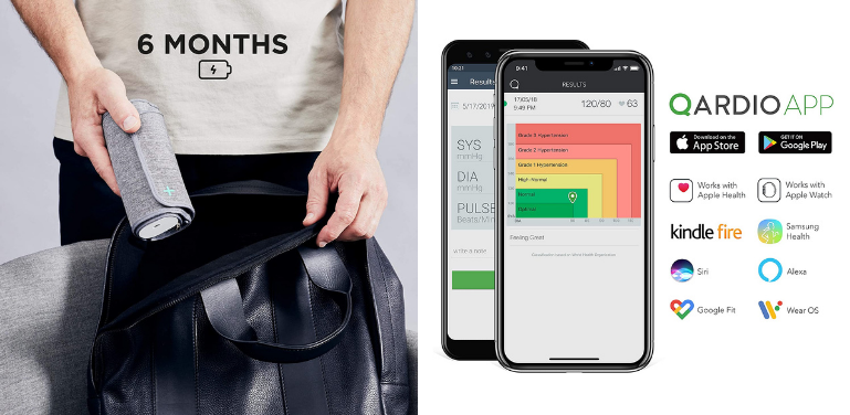 Withings vs Qardio Blood Pressure Monitor App and Battery Life