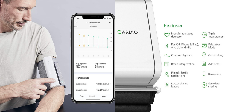 Withings vs Qardio Blood Pressure Monitor Features
