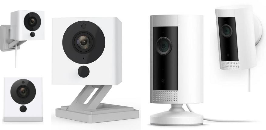 wyze vs ring smart security indoor camera