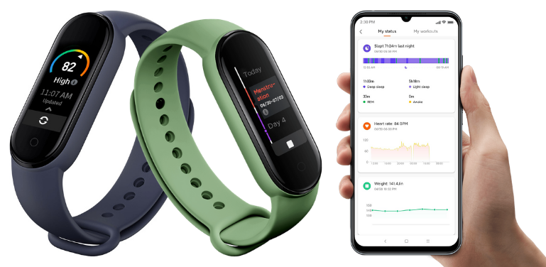 Xiaomi Mi Band 5 vs 6 Health Monitoring Features Review
