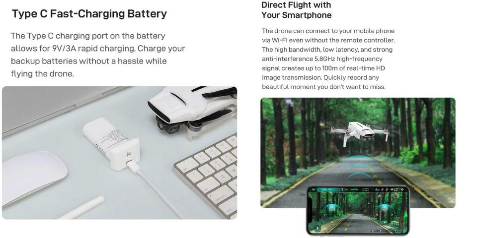 Xiaomi Fimi X8 Mini vs DJI Mini 2 Flight Performance and Features