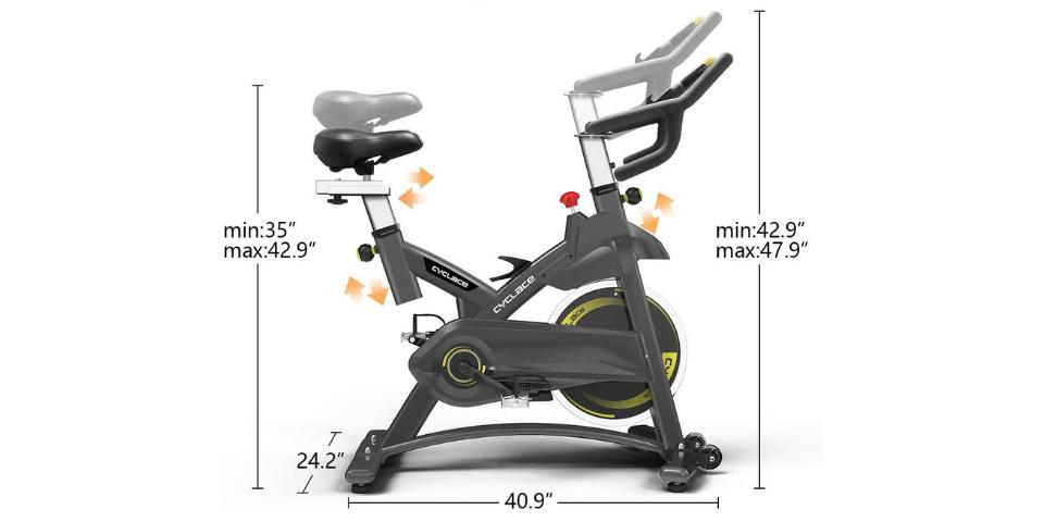 yosuda vs cyclace exercise bike review