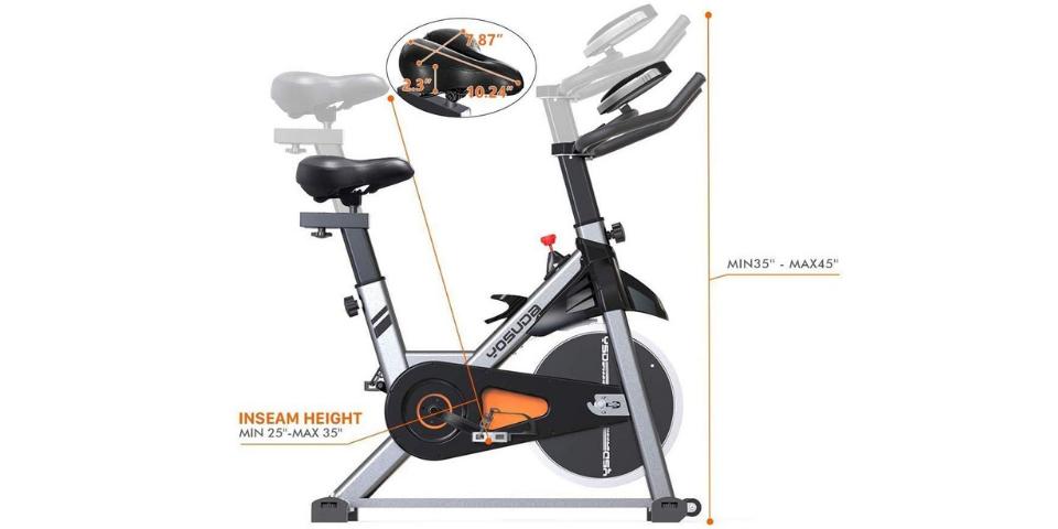 yosuda vs cyclace yosuda indoor cycling bike stationary review