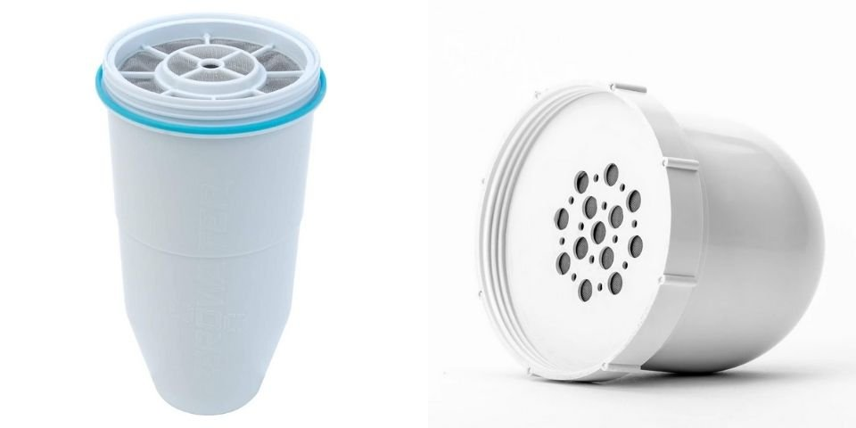 ZeroWater and Clearly Filtered replacement filters